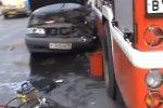 Санкт-Петербург. ДТП с участием пожарного авто и вольво