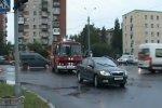 Санкт-Петербург. ДТП Mazda vs пожарный авто
