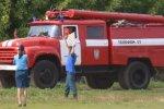 Чебоксары. Соревнования водителей пожарных авто