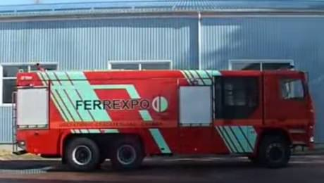 Пожарная автоцистерна КрАЗ 23 2 + АС 13 70