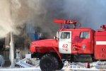 Гатчина. Пожар в цехе НИИ «Электростандарт»