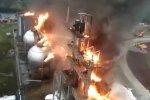 Франция. Взрыв и пожар на атомной станции