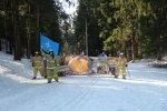 Ленинградская область. Лыжная гонка и флешмоб в Международный день спорта