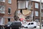 Нидерланды. Гаага. Взрыв в трехэтажном здании