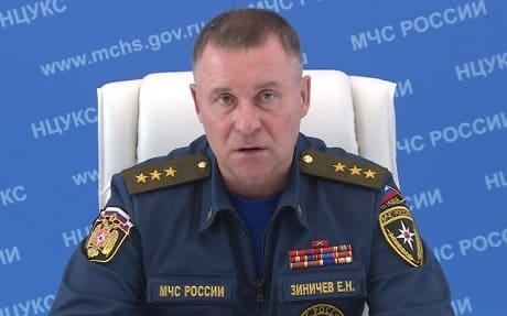 Министр МЧС Евгений Зиничев призвал россиян к максимальной бдительности в дни вынужденного отпуска