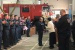 В Ленинградской области отметили День пожарной охраны России