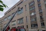 Санкт-Петербург. Тактико-специальные учения спасателей