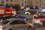 Воронеж. В центре города взорвался автобус